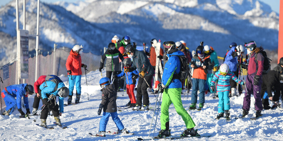 Wintersport in Österreich: Pistengaudi trotz Lockdown