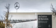 Mercedes Benz Werk in Berlin Marienfelde