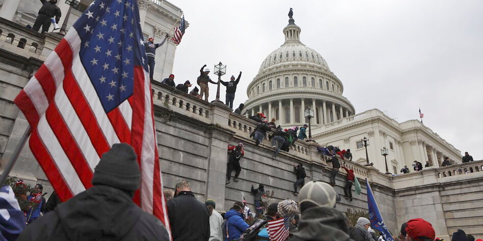 Washington Capitol was violently stormed