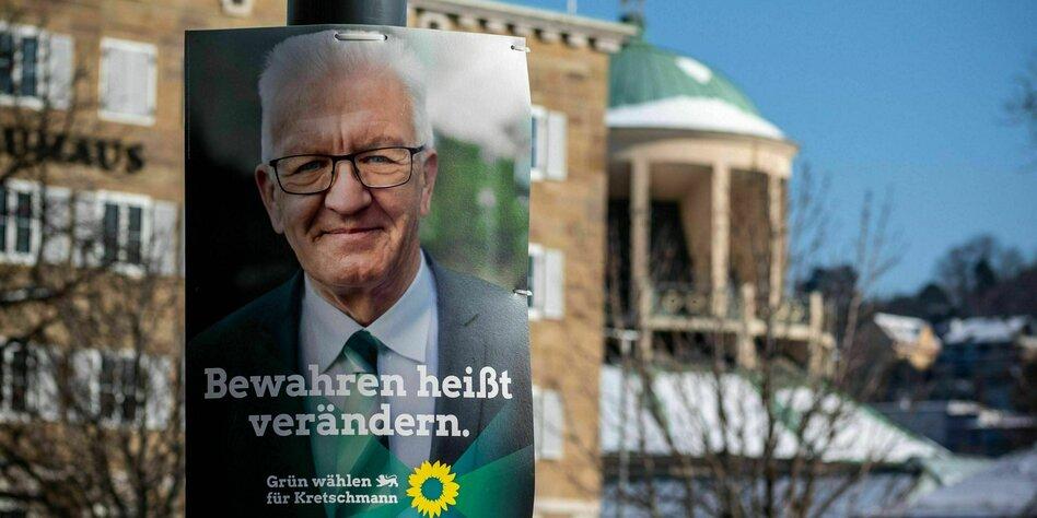 Grun Schwarz In Baden Wurttemberg Mehr Bewahrt Als Verandert Taz De