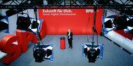 SPD veröffentlicht Wahlprogramm: Etwas grüner, etwas linker
