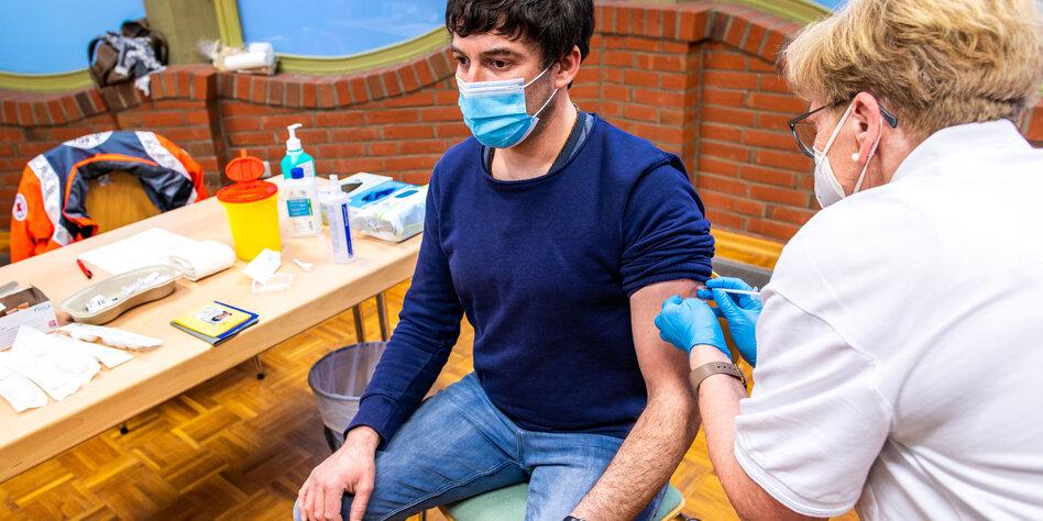 Grundschullehrer werden geimpft