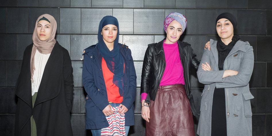 muslima ber das kopftuch tragen nur eine verpackung. Black Bedroom Furniture Sets. Home Design Ideas
