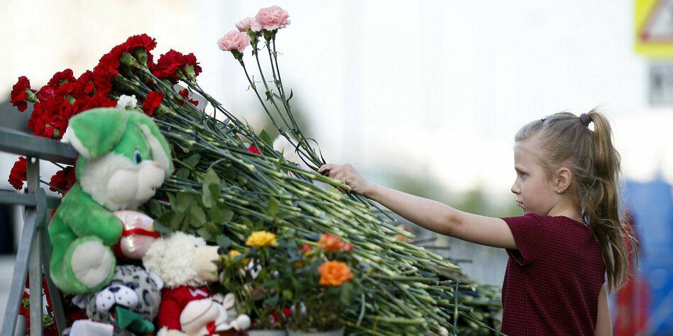 Amoklauf in Russland: Tod im Unterricht
