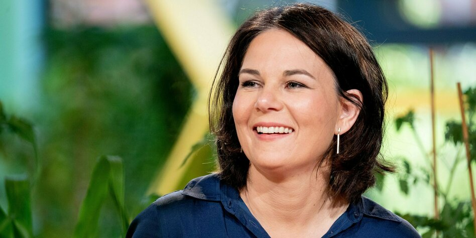 Grunen Politikerin Annalena Baerbock Kanzlerkandidatin Trotz Lebenslauf Taz De