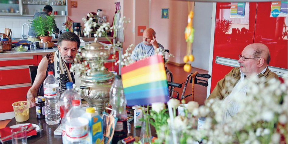 alte reife schwule Männer