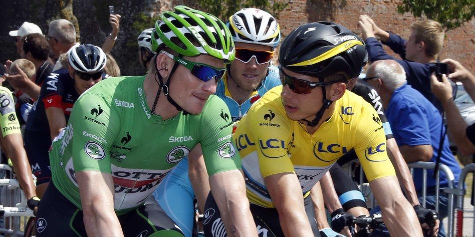 Gesamtwertung Tour De France 2021