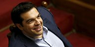 Alexis Tsipras im Athener Parlament