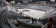 Eishockey-Stadion in Peking