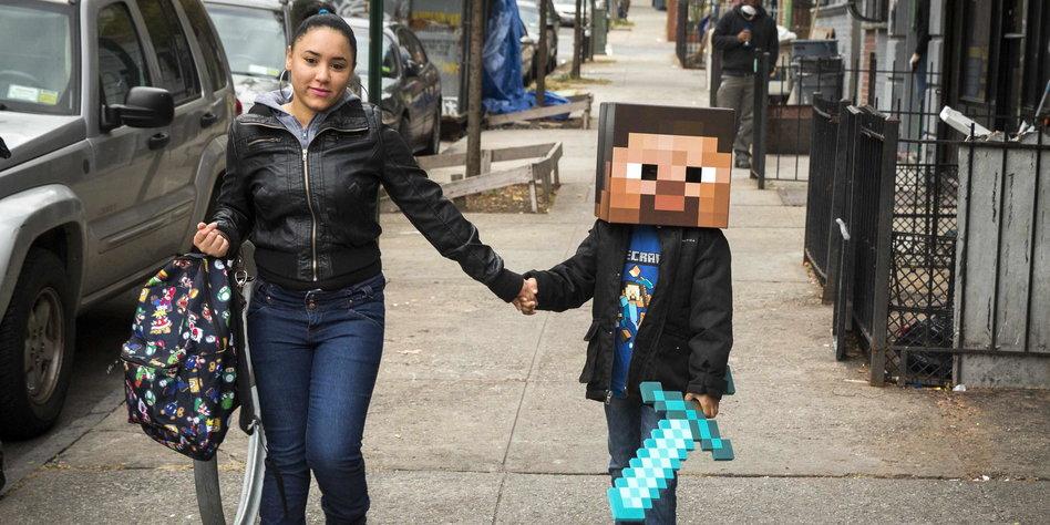 Hype Um Digitales Spiel Minecraft Unter Quadratschädeln Tazde - Minecraft computerspiele