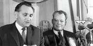 Egon Bahr und Willy Brandt