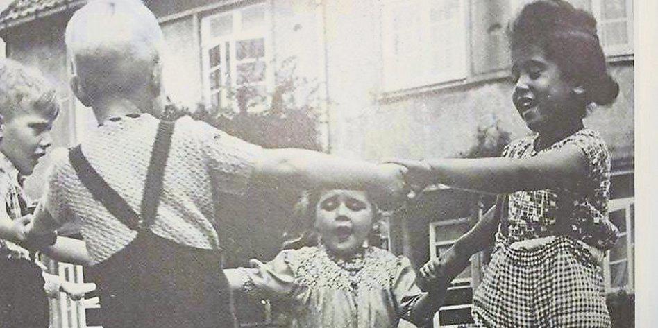 Schwarze Mutter Schwarze Tochter