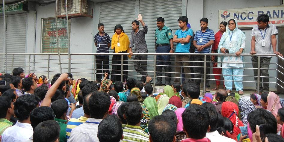 arbeiter in bangladesch