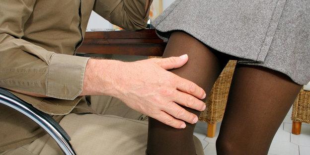 Verhindern Sie sexuelle Belästigung am Arbeitsplatz