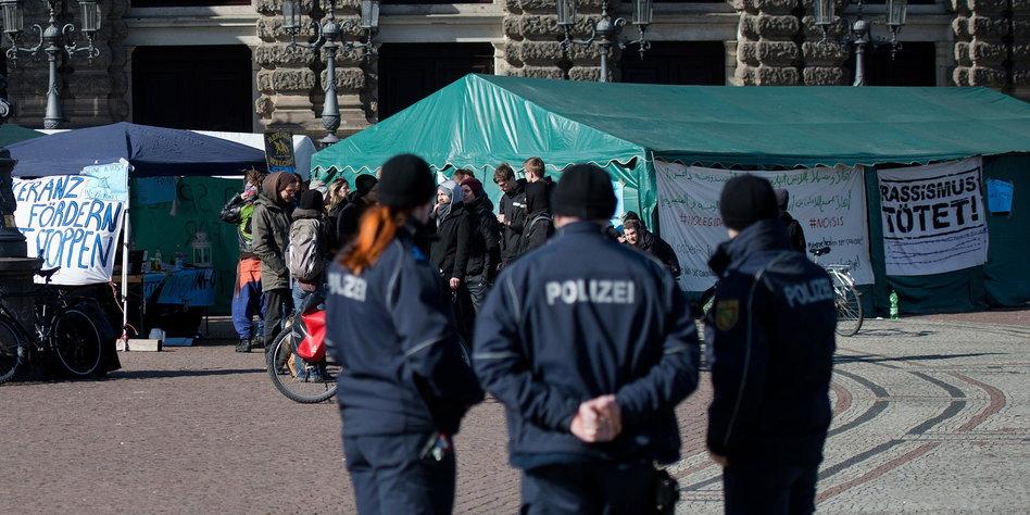 Protestlager wird geräumt