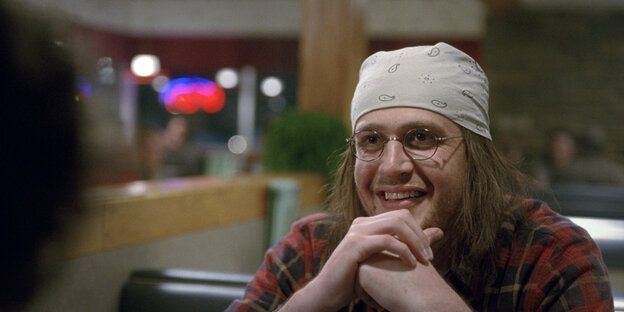 Jason Segel als David Foster Wallace.