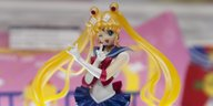 Eine Sailor-Moon-Figur