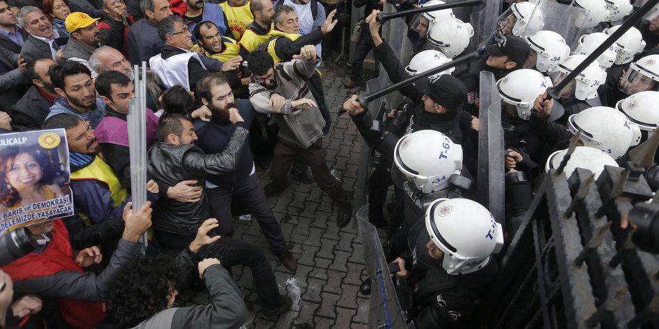 Türkei Demonstrationen