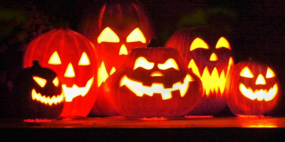 Halloween historischer hintergrund
