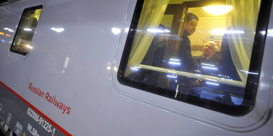 Mit der russischen eisenbahn nach paris zwischen for Spiegel wochenzeitung