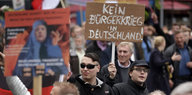 Demonstration der AfD in Berlin Anfang November.