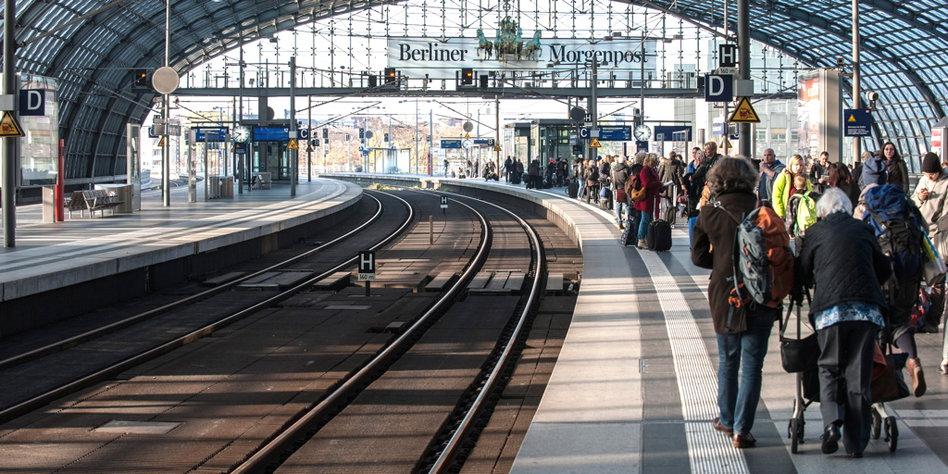 Bahnstreik Freitag