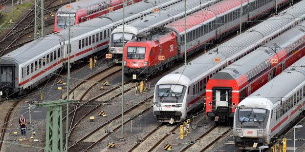 Bahnstreik Berlin 2021