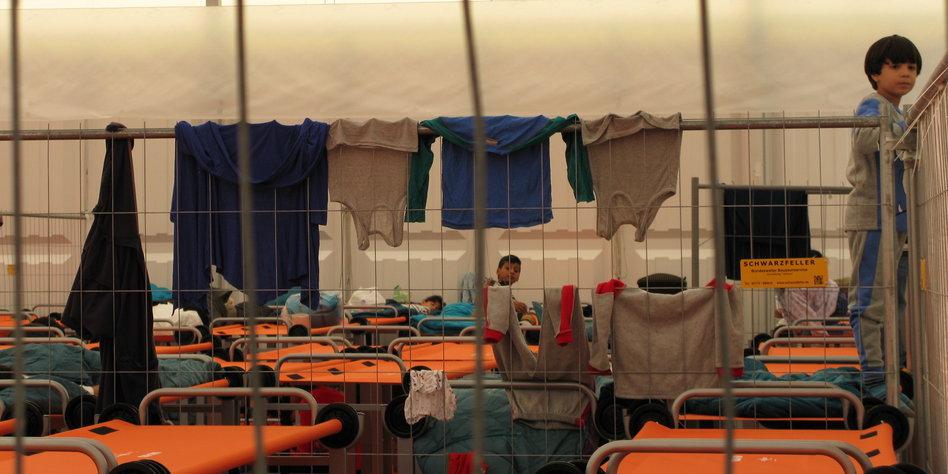 reden über flüchtlinge