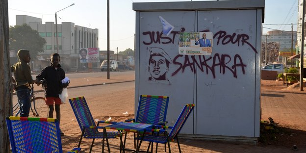 Graffito in Ouagadougou