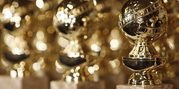 Dekoration in Form des Golden Globe Awards