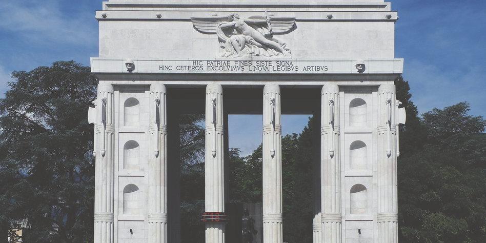 faschistische architektur in bozen