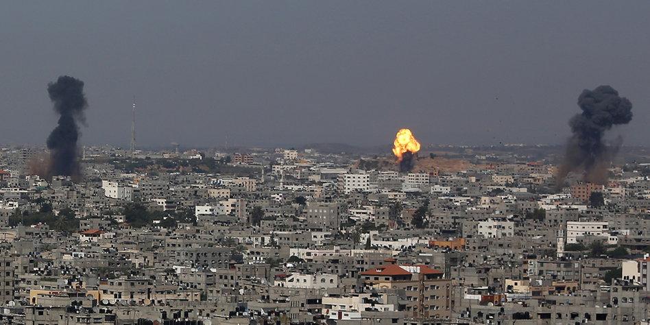 Leben Im Gaza Streifen Keine Aussichten Auf Zukunft Tazde
