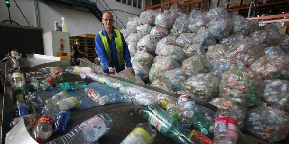 Flaschen Sammeln