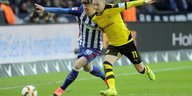 Hertha vs. Dortmund