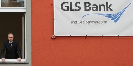 Thomas Jorberg, Vorstandssprecher der GLS Bank, am Hauptsitz seiner Bank in Bochum.