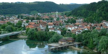 Bosanska Krupa an der Una