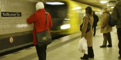 Platz für Scheibenwischer - U-Bahnhaof Kottbusser Tor