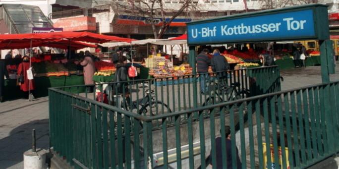 Kottbusser Tor Ubahn Eingang