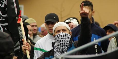 Demonstration von Salafisten