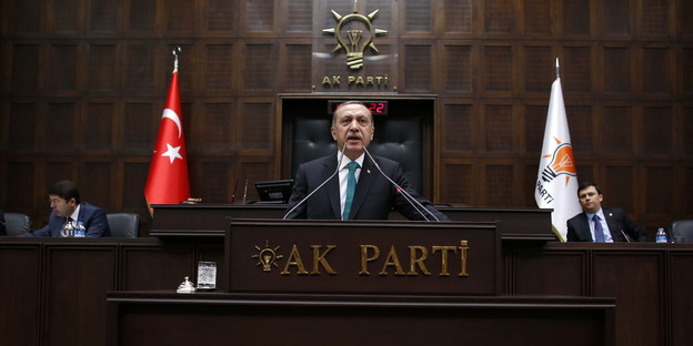 War auch mal der starke mann recep tayyip erdogan bild reuters