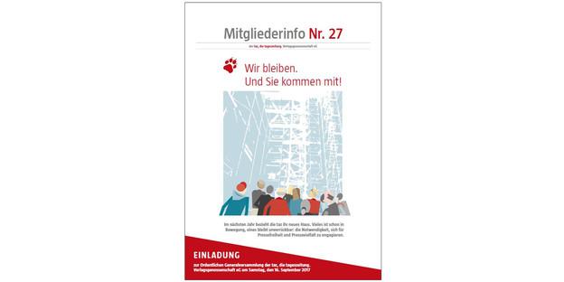 generalversammlung - taz.de, Einladung