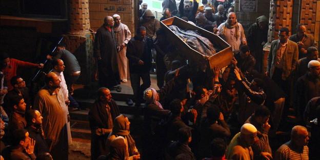 Beerdigung mayada ashraf aegypten ap