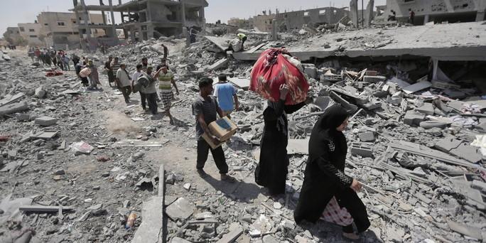 Gaza unter Beschuss: Wir tranken Kaffee unter Drohnen