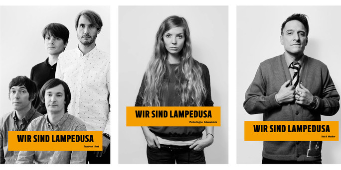 """""""Wir sind Lampedusa"""""""