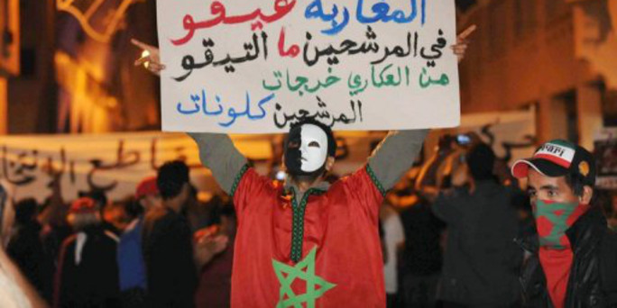Der Arabische Frühling in Marokko: Marokko: Königliche ...
