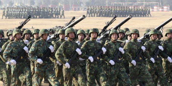 Chinas armee korrupt ehrgeizig und immer besser ausgestattet bild