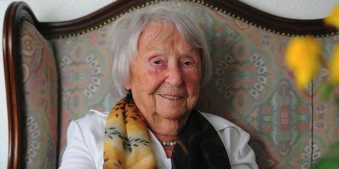 Autorin Elfriede Brüning wird 100: Sex und