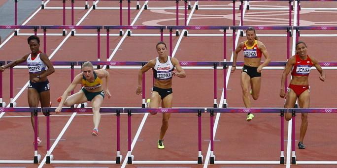 olympia 100 meter h rden lauf keusch auf den 4 platz. Black Bedroom Furniture Sets. Home Design Ideas