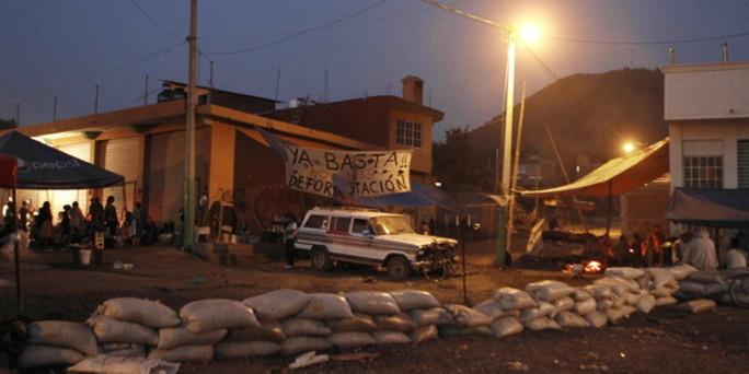 hilfsprojekt im mexikanischen guerrero die sicherheit im haus der armen. Black Bedroom Furniture Sets. Home Design Ideas