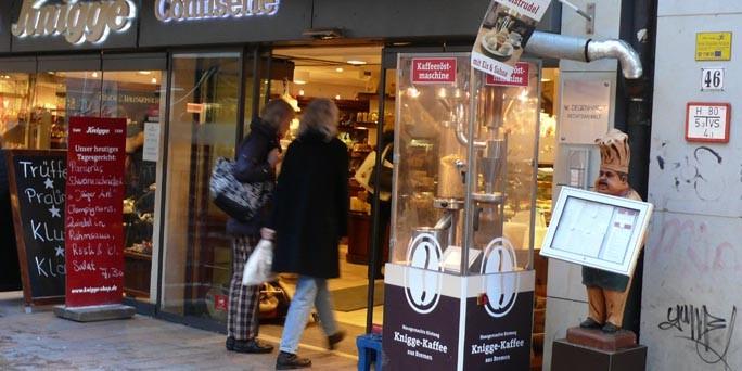 Cafe Knigge Bremen Speisekarte